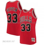 Canotte Basket Bambino Chicago Bulls 1997-98 Scottie Pippen 33# Red Hardwood Classics..